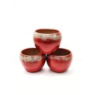 Ghiveci ceramica Craciun