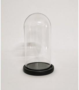 Cupola sticla medie blat negru 10x20