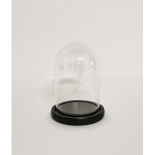 Cupola sticla mica blat negru 10x15