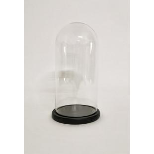 Cupola sticla mare blat negru 12x25