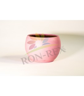 Ghiveci ceramica roz