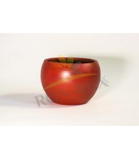 Ghiveci ceramica rosu