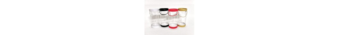 Cutii cilindrice plastic